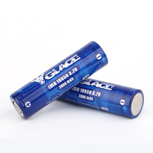 Pollution-free long cycle life rechargeable 2800mAh 3 7 volt battery