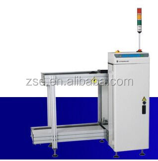 full automatic PCB magazine loader for SMT reflow soldering production