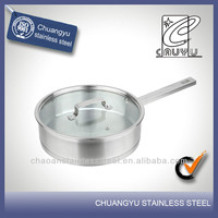 New product stainless steel diamond ceramic pan