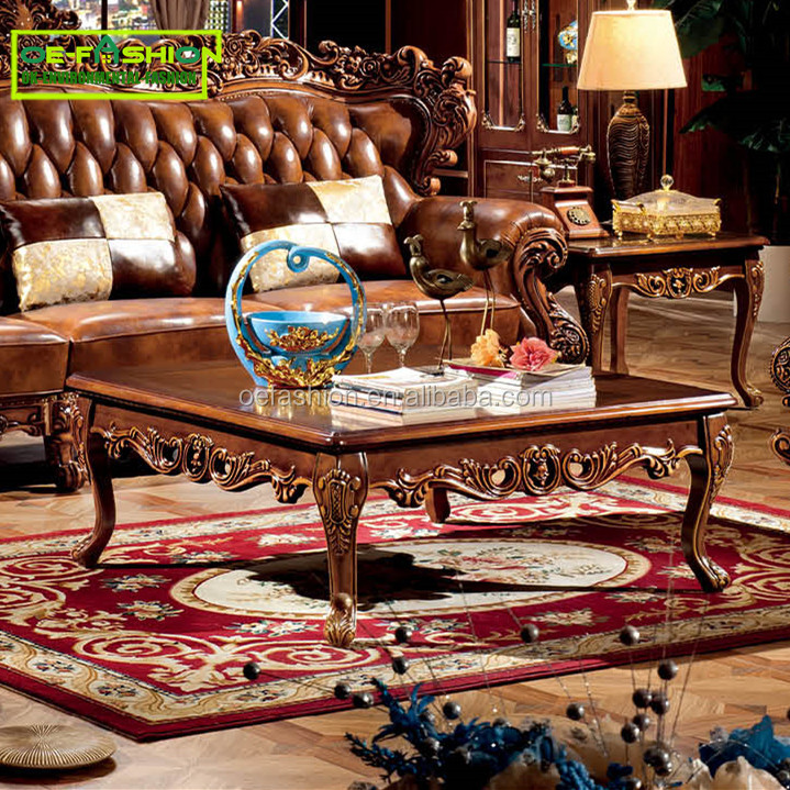 OE FASHION Square shape Living Room Central Solid Wood Home Coffee <strong>Table</strong>