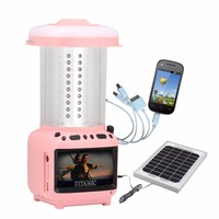 Portable Solar TV with Solar Panel and MP4 ,FM Function