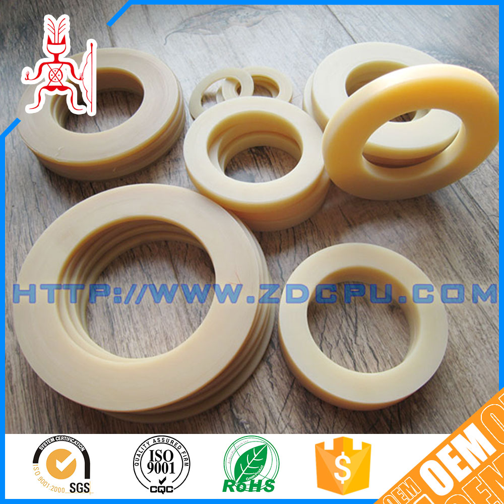 Small cheap industrial pvc plastic gasket
