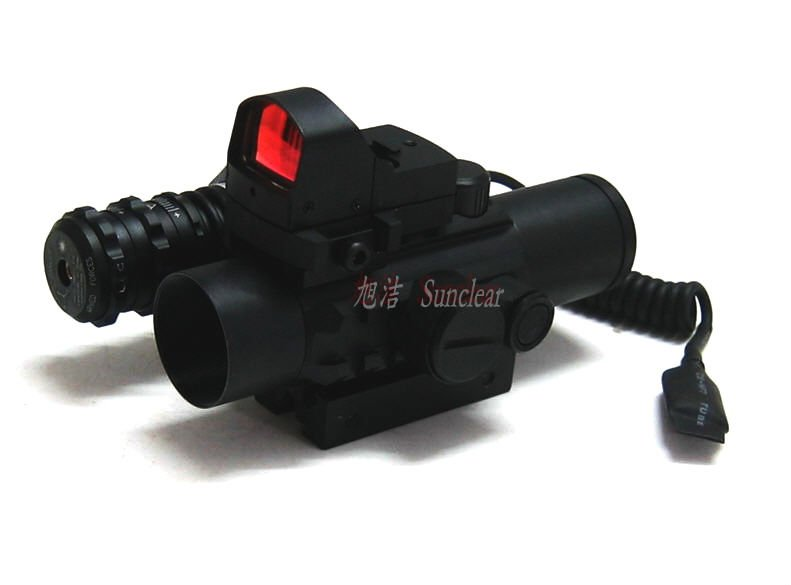 Vector Optics Wingspan 1x28 Red Dot Scope with Triple Rails