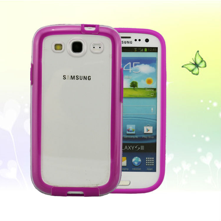 cheap cell phones for Samsung i9300 TPU and PC phone border Wholesale cell phone sets manufacturers