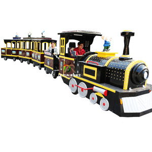 Video Available!!! DERUN RIDES Super fun thomas mini electric kids ride indoor mall train trackless for sale