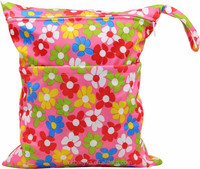 Ohbabyka cute animals prints washable and reusable baby diaper bag