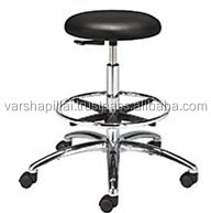 Adjustable Laboratory Stool with wheels / Lab Chair with the Arm without Arm
