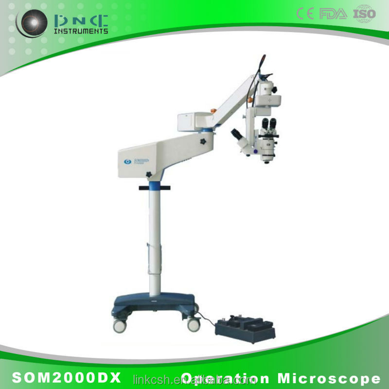 ophthalmology instruments SOM2000DX optical microscope operating