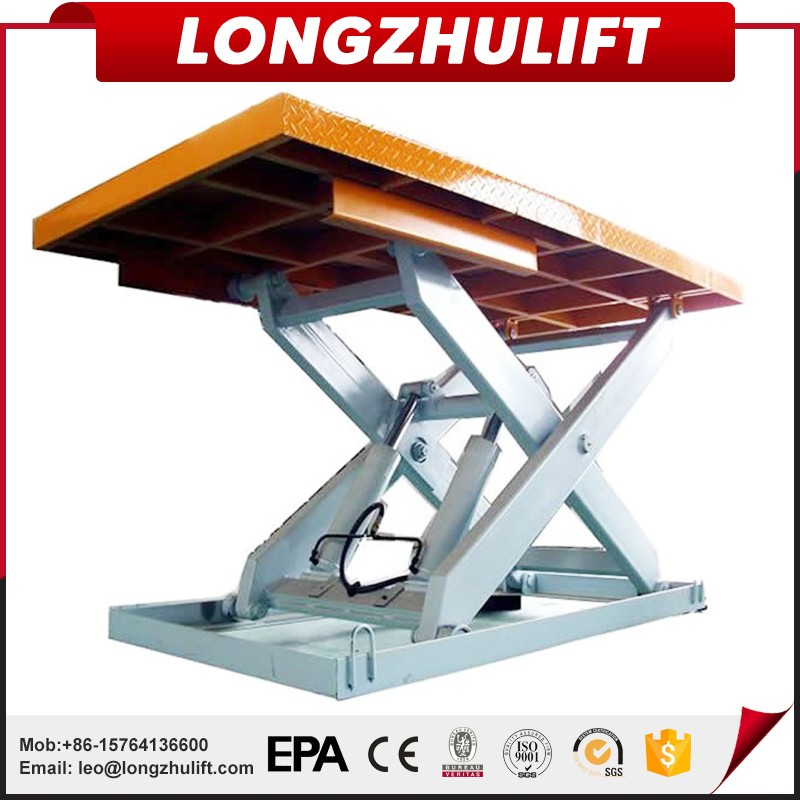 Factory sell high quality hydraulic scissor table lift
