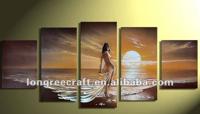 High Quality Handmade Picture Nude Women Painting GOP46