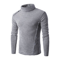 Thick Acrylic Cardigan Sweater for Men