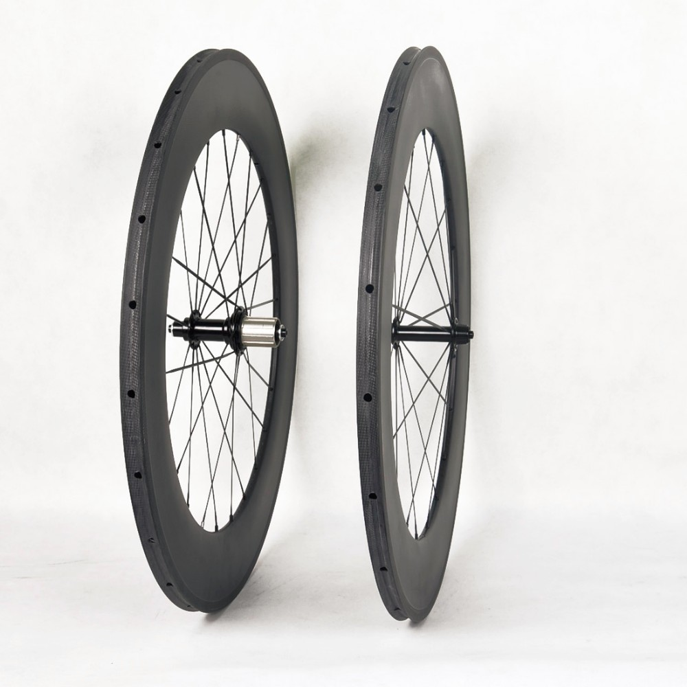 Custom Decal carbon fiber road wheels 700c clincher 88mm depth road bicycle wheels carbon fiber