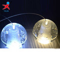 clear solid crystal glass bubble ball for lighting /crystal ball with bubbles