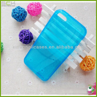 Ultra Thin Transparent Crystal Clear TPU Case For iPhone 5 / 5S