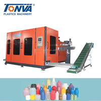 High capacity hdpe plastic bottle automatic extrusion blowing machine