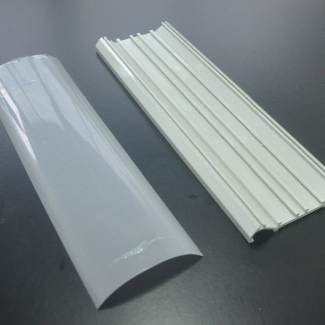pvc customized plastic extrusion profile,pvc profile,LED PROFILE