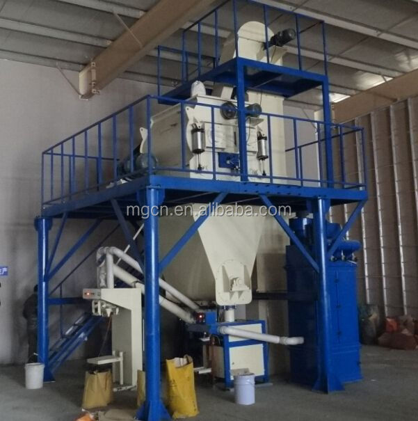 China professional manufacturer new product automatic construction machinery of dry mortar mixer export on alibaba