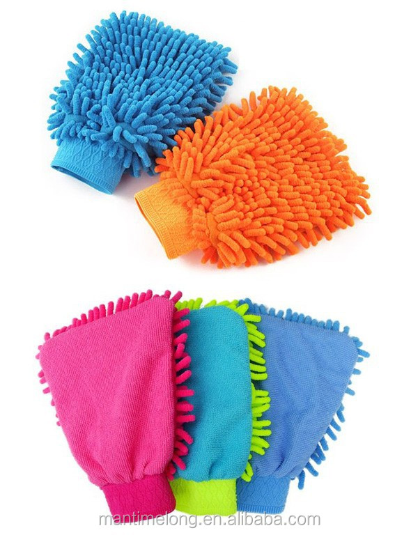 microfiber cleaning car towel car washer car wash mitt