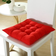 brushed polyester fabric thick solid colored sofa couch <strong>rice</strong> eat chair cushion