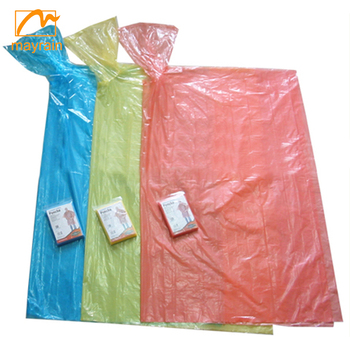 2017 Summer Mayrain waterproof transparent plastic raincoat