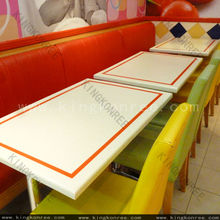seamless joint hot sell table, custom made restaurant table top
