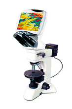 Compound Digital LCD Polarizing Microscope with nine inches screen HDMI output