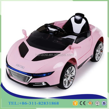 2016 Chinese manufacturers dual-drive remote control electric baby toy car