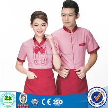 Custom Design Waitress Uniform, Uniform for Restaurant for Waitress