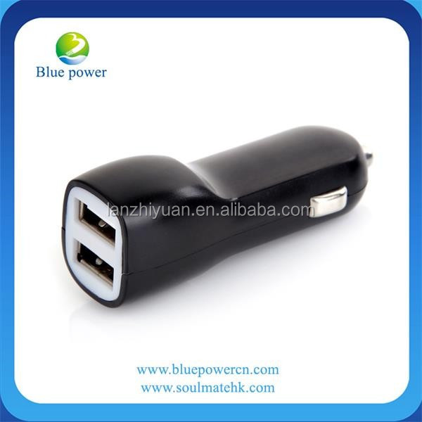 Dual 2 Port USB Car Charger Adapter, 2.1A/3.1A 10W/15W Dual USB Ports battery charger Mini Car Charger for Iphone 6