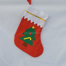 Wholesale festival items felt christmas stocking 3d funny christmas socks