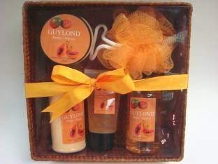 hotel Body Bath Shower Gel gift set OEM factory