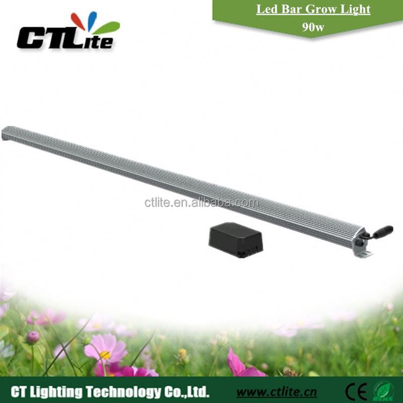 500w led grow light led growing light bars ouble emitting sides waterproof grow led bar light 75w
