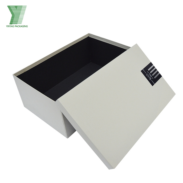 New Square Hat Custom Cardboard Paper Shoes Packaging Gift Box for shoe