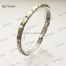Wholesale New trendy 316L stainless steel bio magnetic bracelets as seen on tv