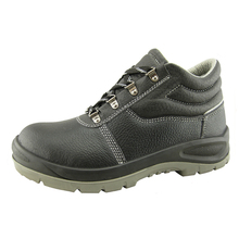 Buffalo leather PU sole safety branded shoes