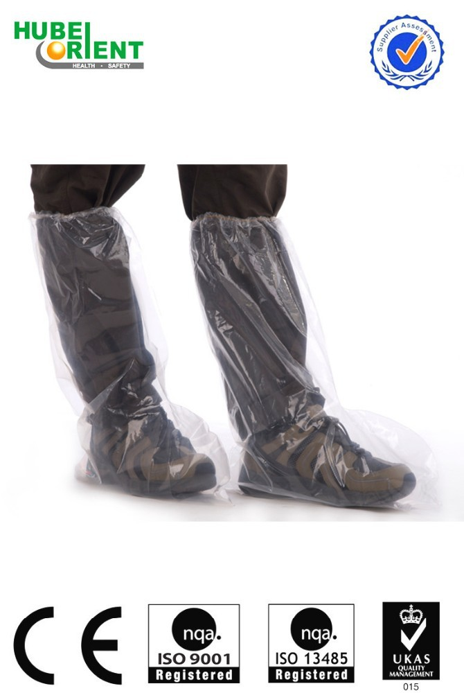 Cheap waterproof PE boot covers