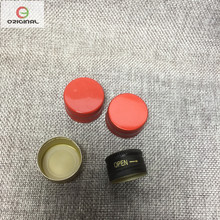 aluminum cap with hot filling for bottles
