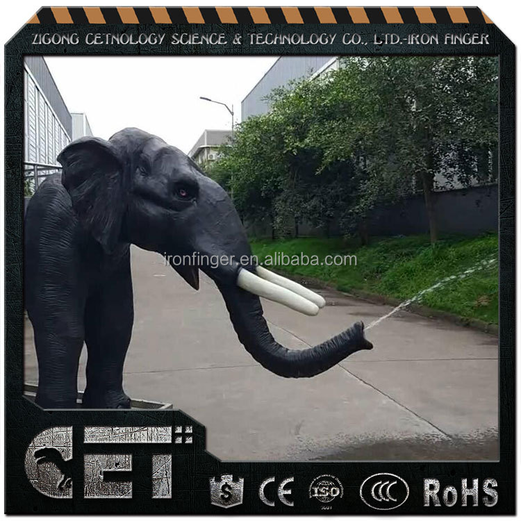 Cet-A-1543 African animal statue fiberglass elephant model for decoration