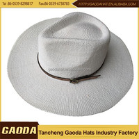 New design promotion make a paper cowboy hat