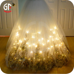 Wedding 20LEDs 6.6ft 2M Timer Control Battery Operated Led String Lights