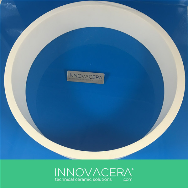 Manufacture Technical Ceramic Products 95 Alumina Ceramic Ring/INNOVACERA