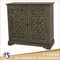wholesale antique living room wood carve cabinet