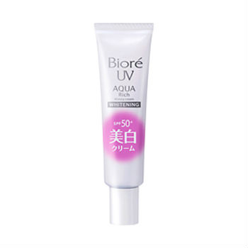 Biore UV Aqua Rich Watery Cream Whitening SPF50+33ml