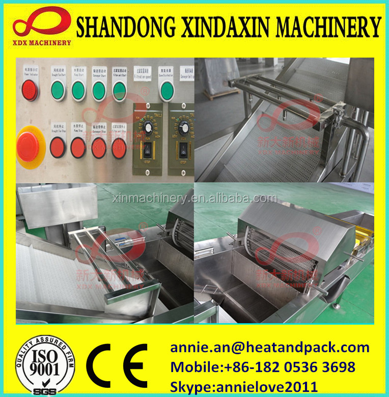 vegetable and fruit washing machine using ozone sterilization