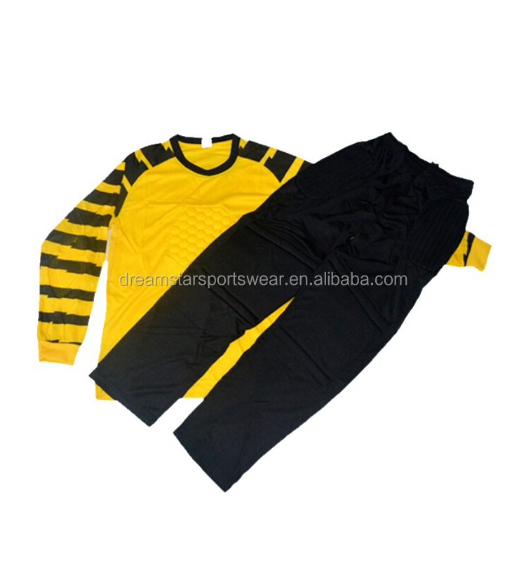 Latest Style Yellow Goalkeeper Shirt