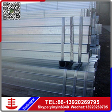 AAA Quality prime galvanized steel pipe /galvanized square steel pipe/tube
