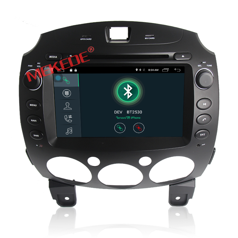 "8"" Android 7.1 Car GPS Player for MAZDA 2 2007-2013 with Quad Core 2G ram 16G ROM"