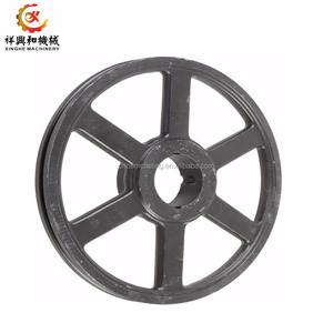 OEM small/large pulley wheel agricultural cast iron wheels