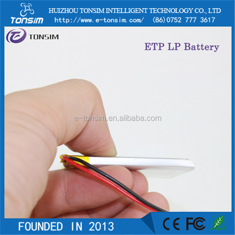 High rate Electric Cigarettes battery 3.7v rc helicopter battery 1000mah