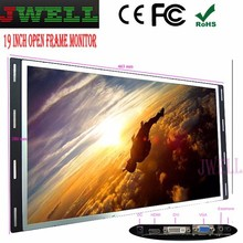 19 inch 16:9 lcd detachable bezel wall mounted 4-wire touch point 32 inch touch screen frame monitor